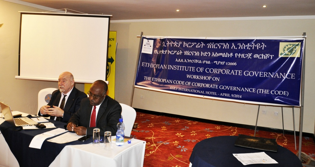 Discussion on the Code of Corporate Governance, Apr. 2013